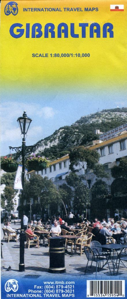 Gibraltar Travel Holiday Map